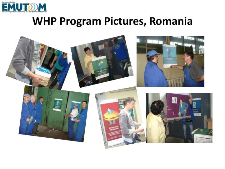 WHP Program Pictures, Romania
