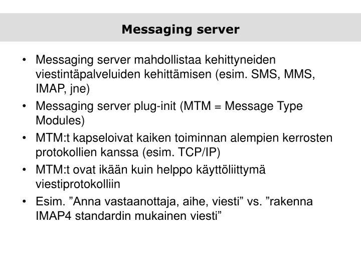 Messaging server