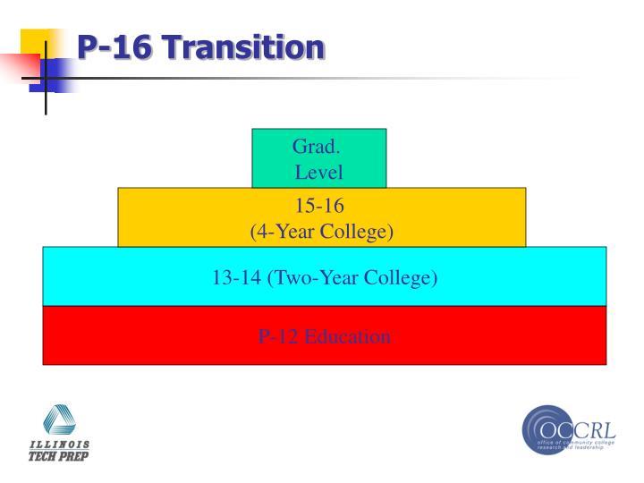 P-16 Transition