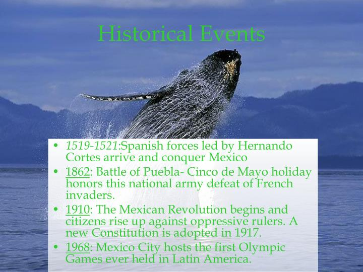 Historical Events