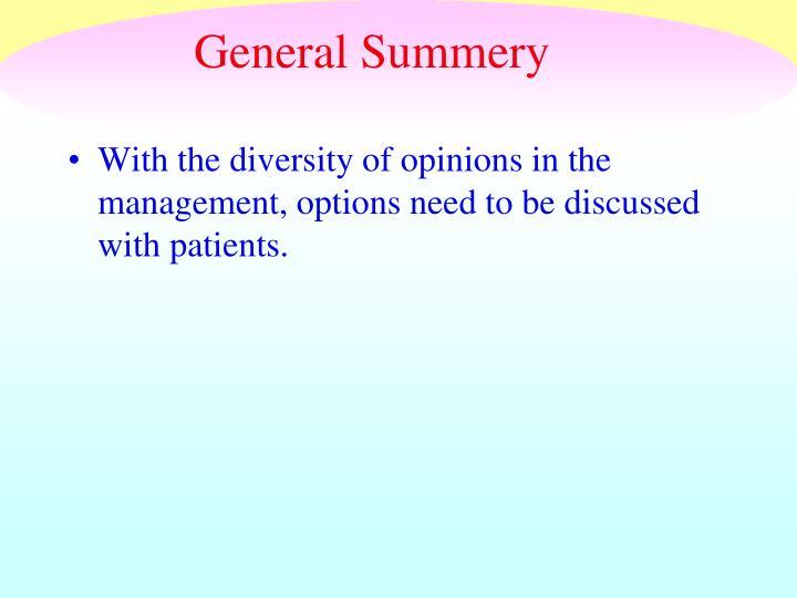 General Summery
