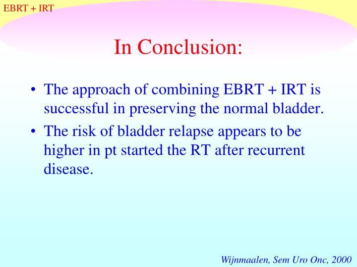 EBRT + IRT