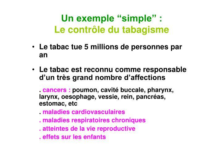 """Un exemple """"simple"""" :"""