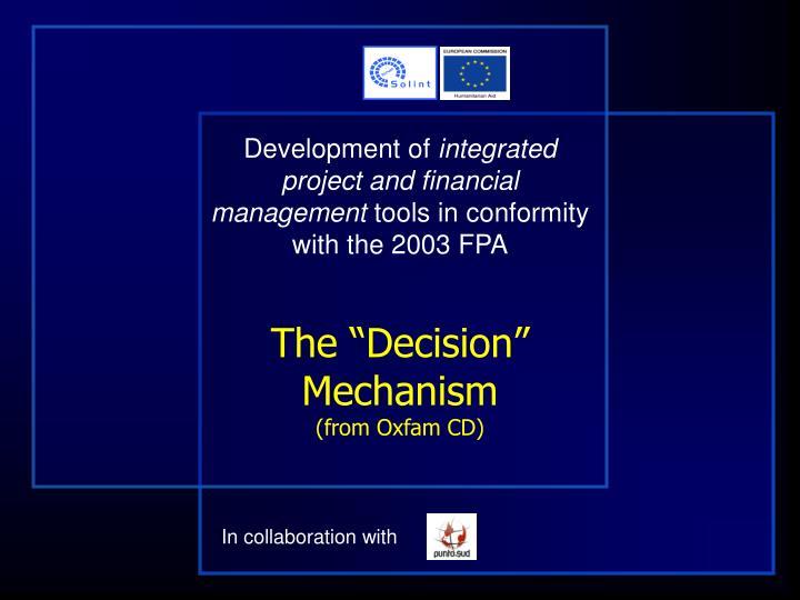 Development of