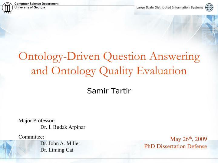 Common Dissertation Defense Questions