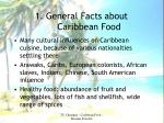 1 general facts about caribbean food