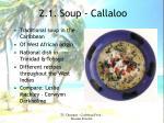 2 1 soup callaloo