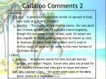 callaloo comments 2