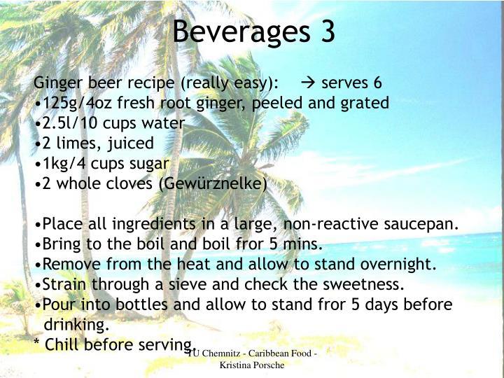 Beverages 3