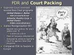 fdr and court packing