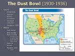 the dust bowl 1930 1936