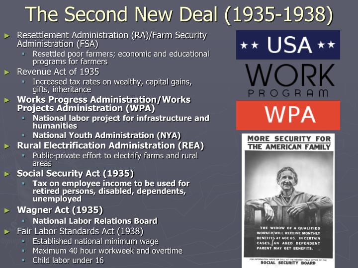 The Second New Deal (1935-1938)
