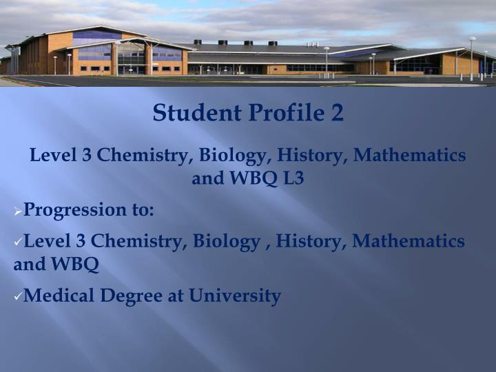 Student Profile 2