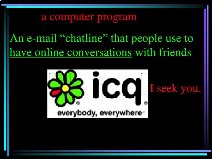 a computer program