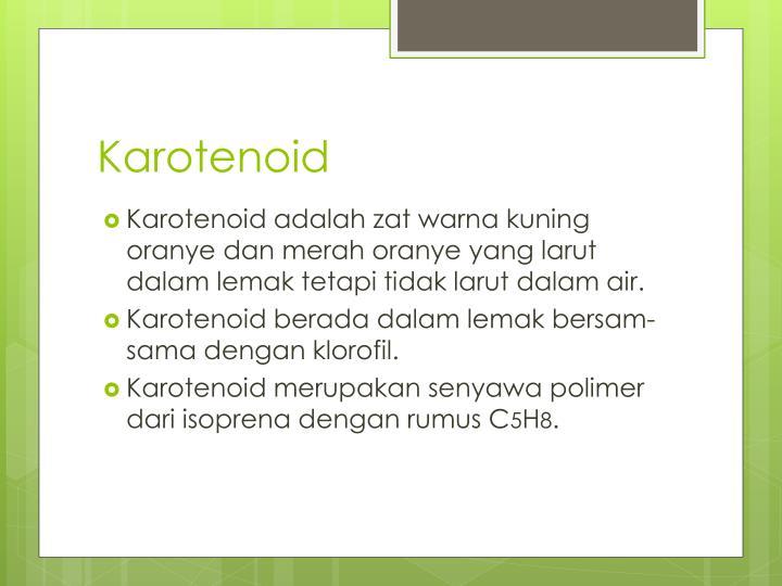 Karotenoid