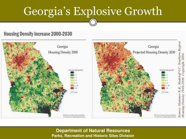 Georgia's Explosive Growth