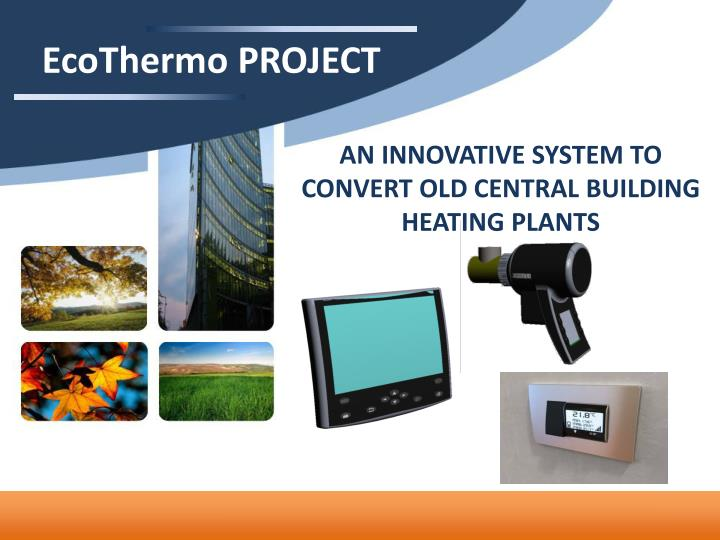 EcoThermo PROJECT