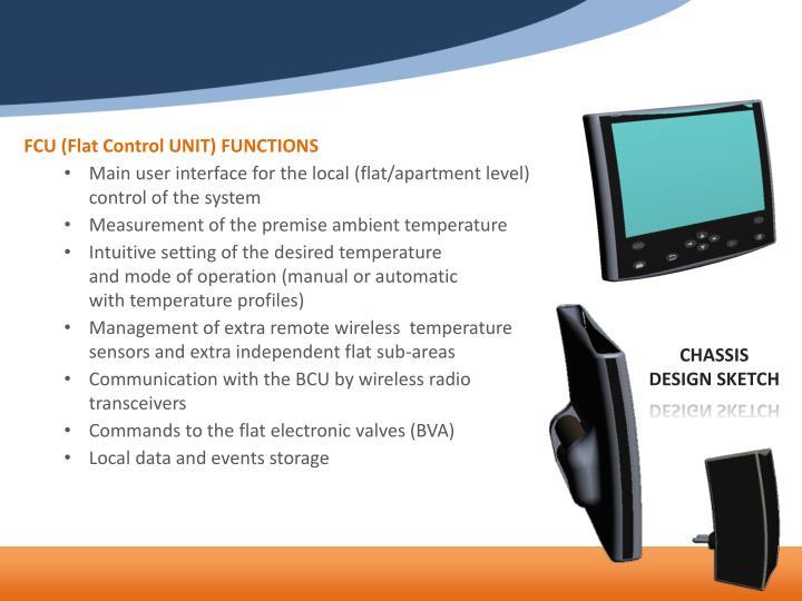 FCU (Flat Control UNIT) FUNCTIONS