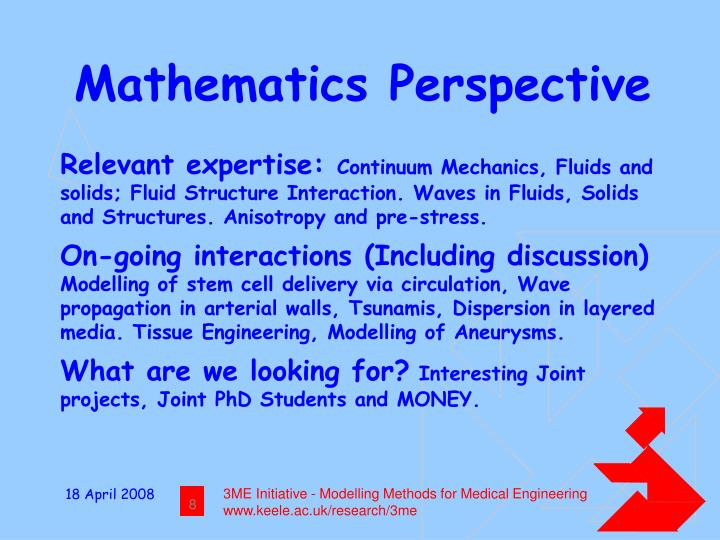 Mathematics Perspective