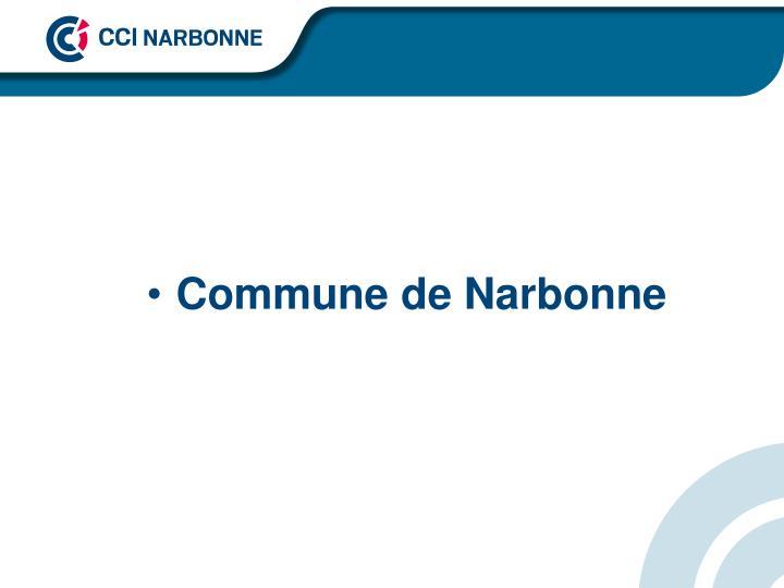 Commune de Narbonne