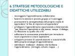 6 strategie metodologiche e didattiche utilizzabili
