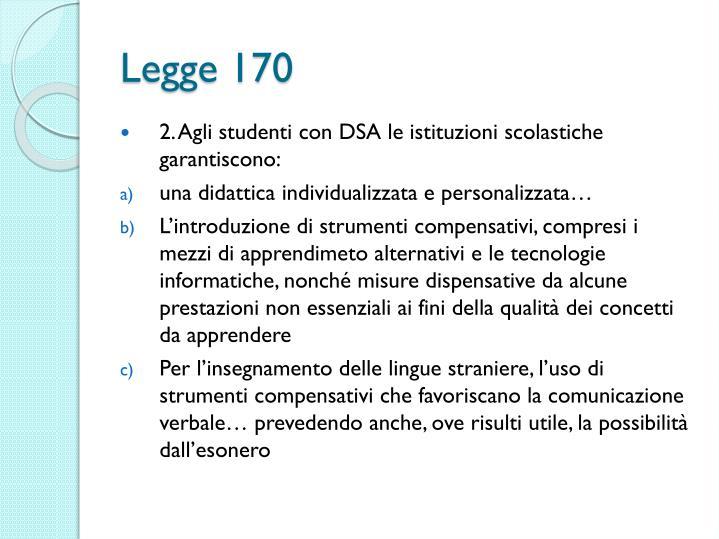 Legge 170