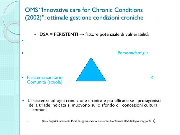 "OMS ""Innovative care"