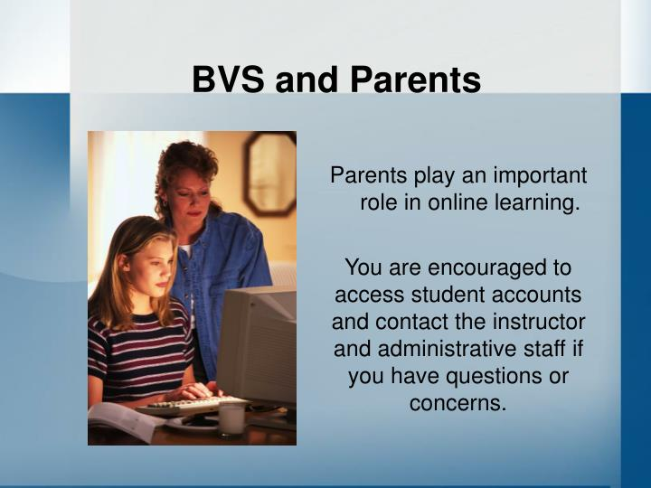 BVS and Parents