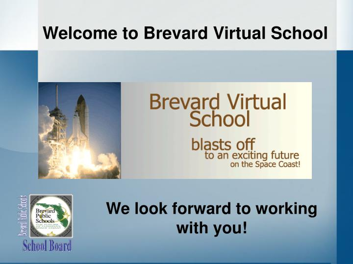 Welcome to Brevard Virtual School