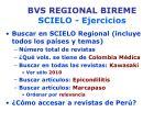 bvs regional bireme scielo ejercicios