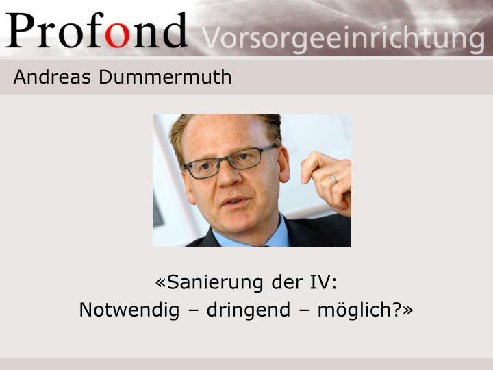 Andreas Dummermuth