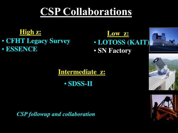 CSP Collaborations