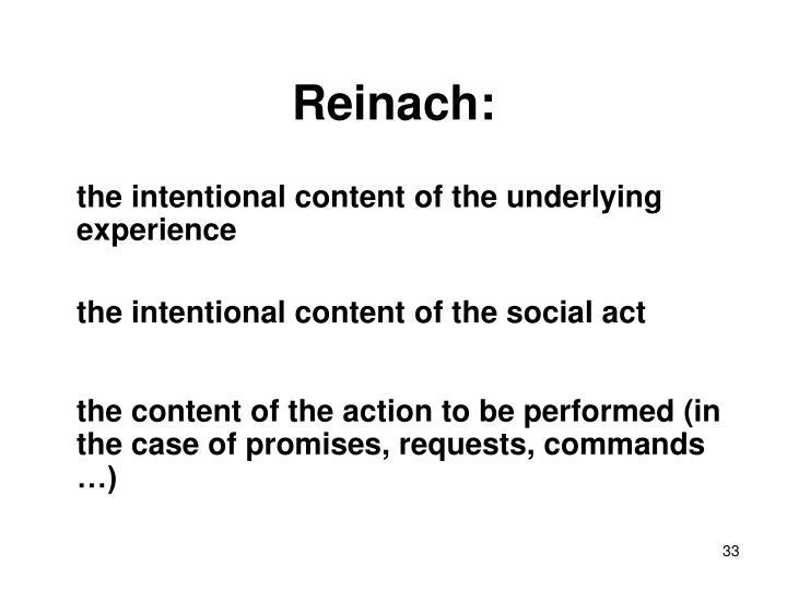Reinach: