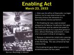 enabling act march 23 1933