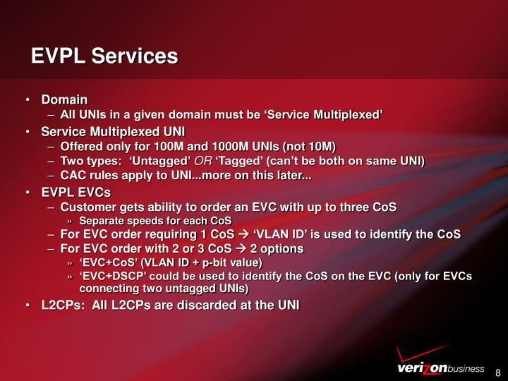 EVPL Services