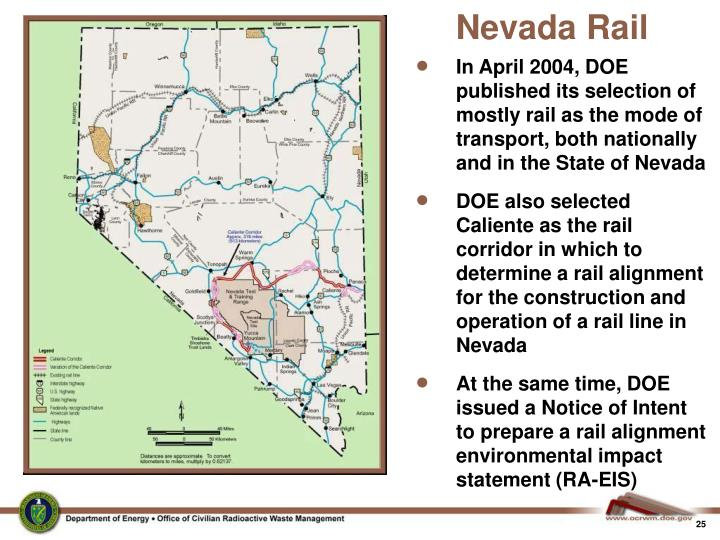 Nevada Rail