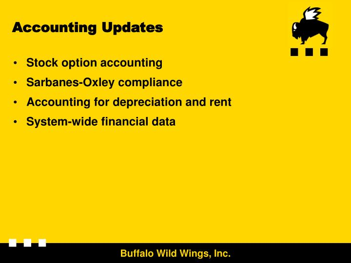 Accounting Updates