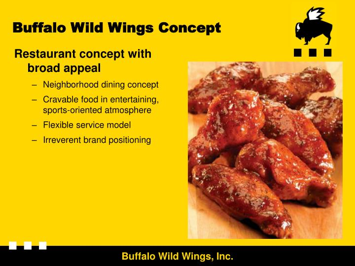 Buffalo Wild Wings Concept