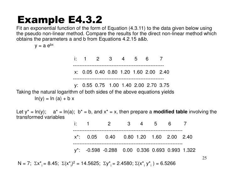 Example E4.3.2