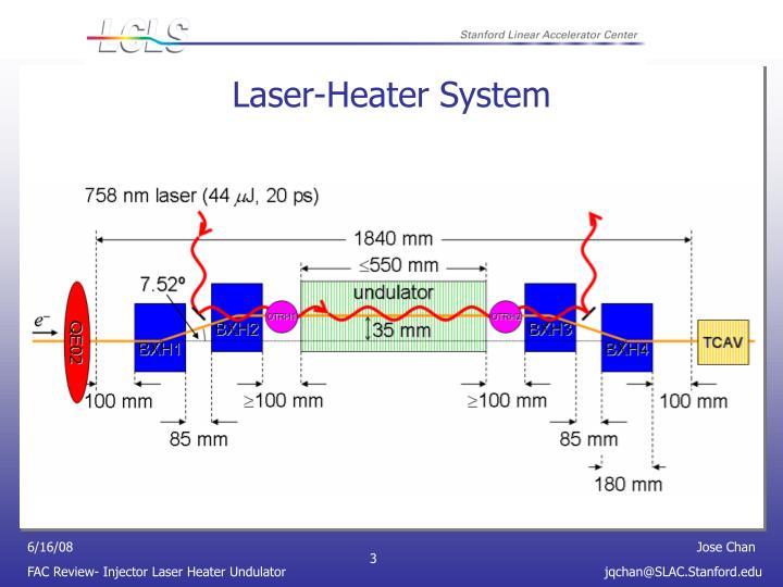 Laser-Heater System