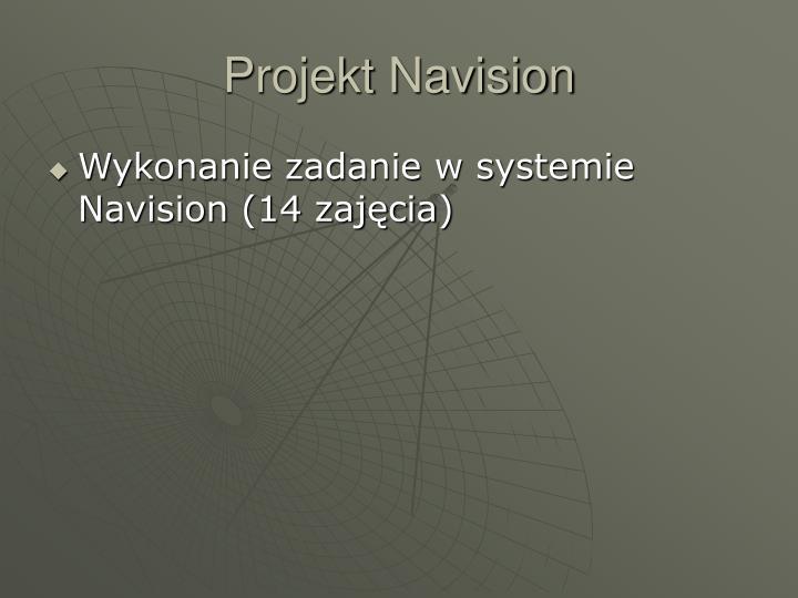 Projekt Navision