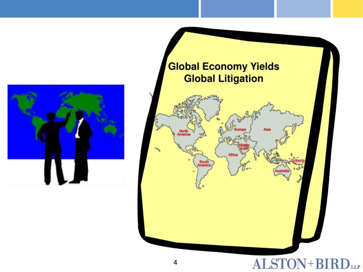 Global Economy Yields Global Litigation