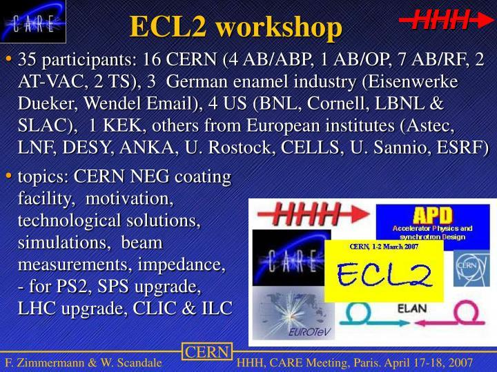 ECL2 workshop