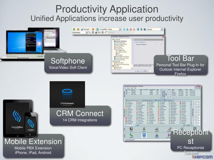 Productivity Application