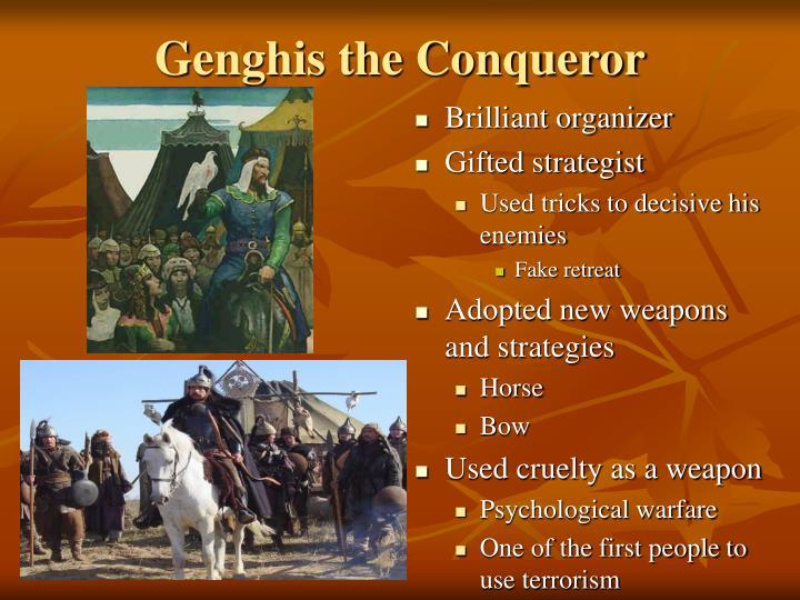 Genghis the Conqueror