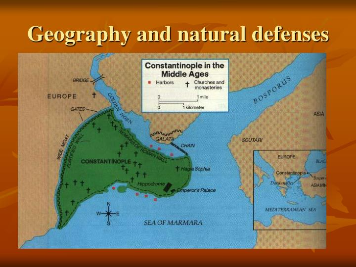 Geography and natural defenses