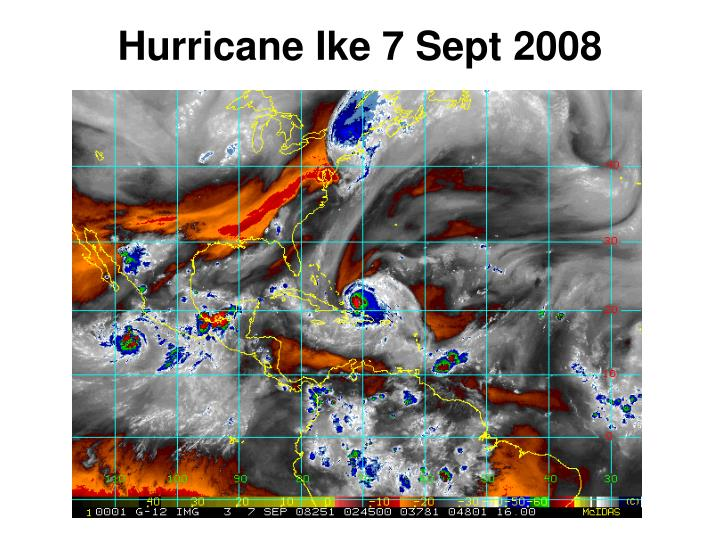 Hurricane ike 7 sept 2008