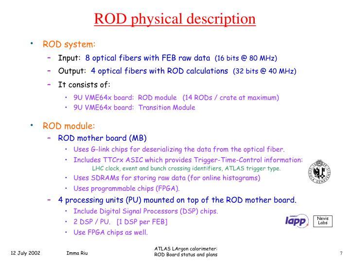 ROD module: