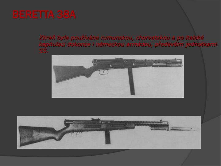 BERETTA 38A