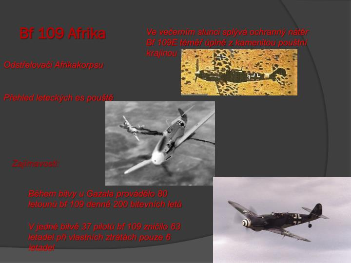 Bf 109 Afrika